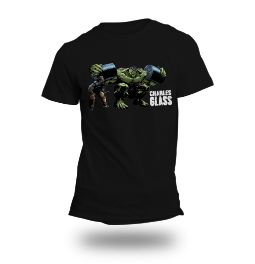 Charles Glass Hulk Shirt – Black